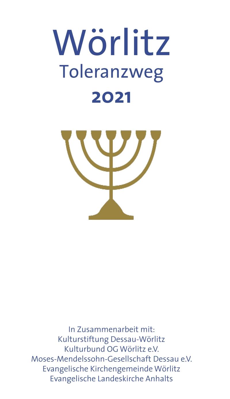Toleranzweg Wörlitz - Veranstaltungen 2021