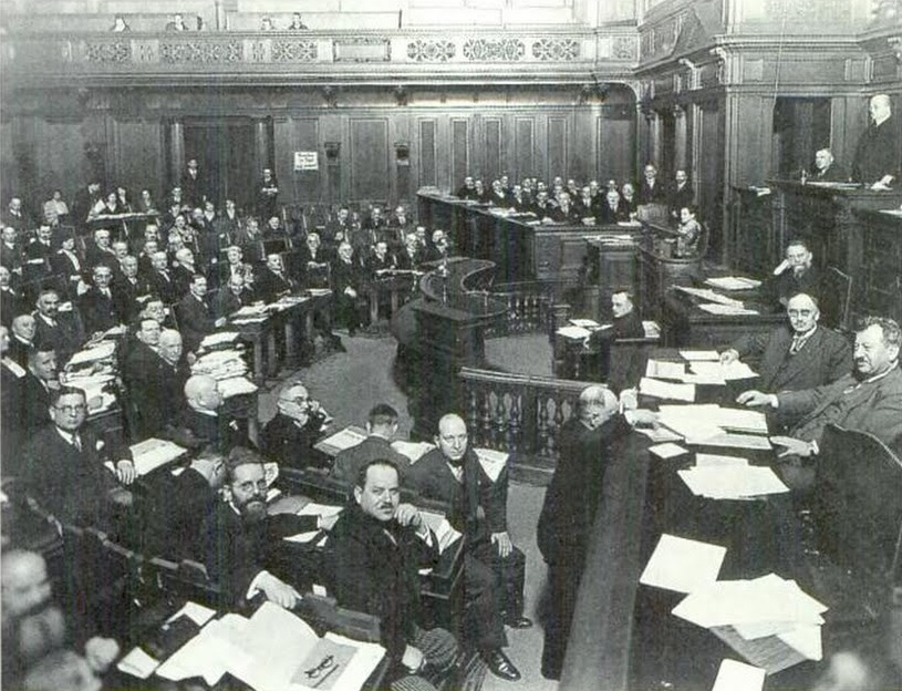 Verbandstag des Preußischen Landesverbandes Jüdischer Gemeinden 1930