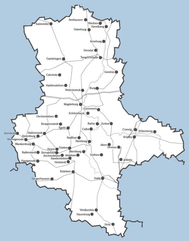 Jüdische Gemeinden in Sachsen-Anhalt