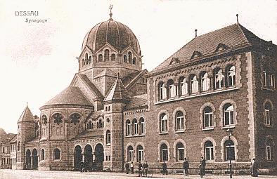 Ehemalige Synagoge in Dessau